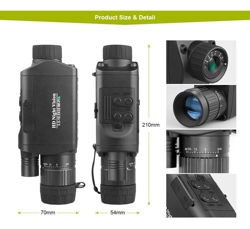 Bestguarder NV-500 Night Vision Monocular pic-1