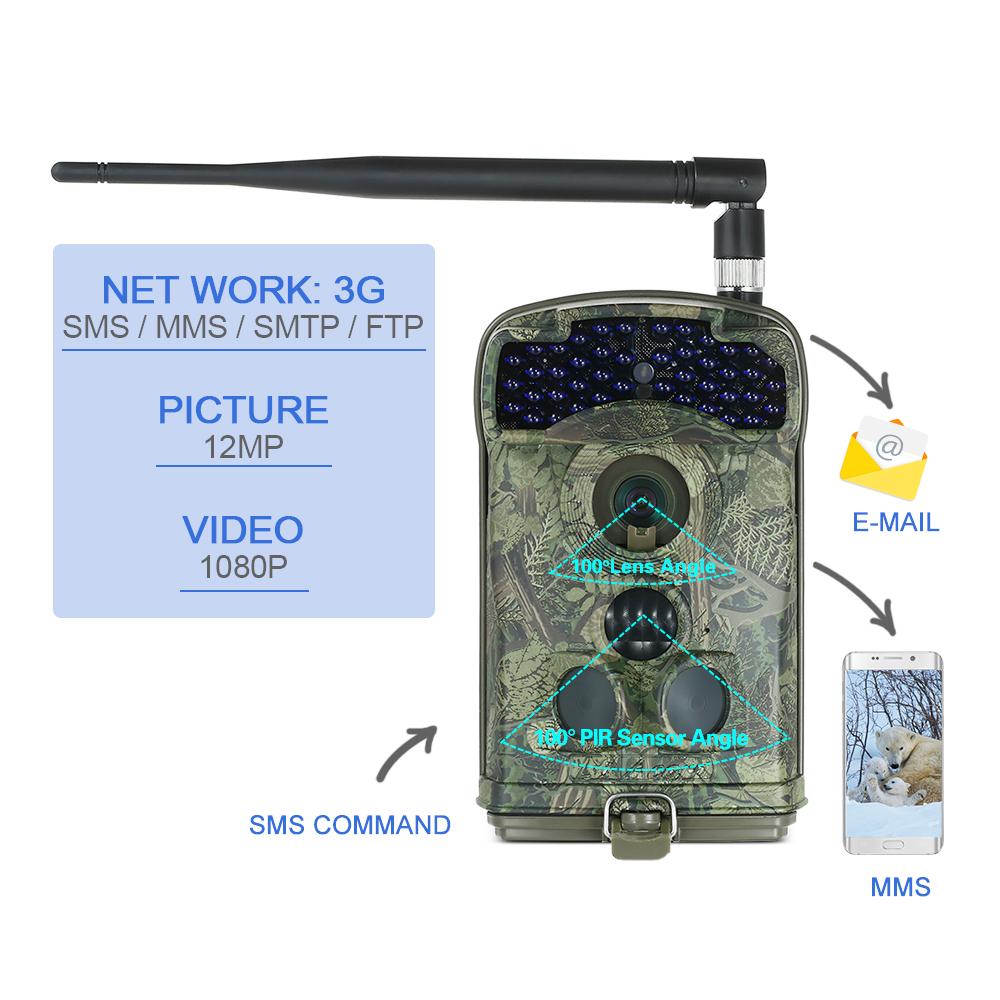 3G Wildlife Trail Camera LTL-6310WMG-3G 2