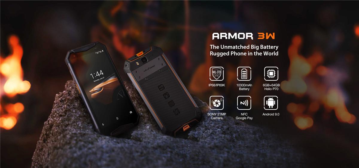 Ulefone Armor 3W Rugged Smartphone-4
