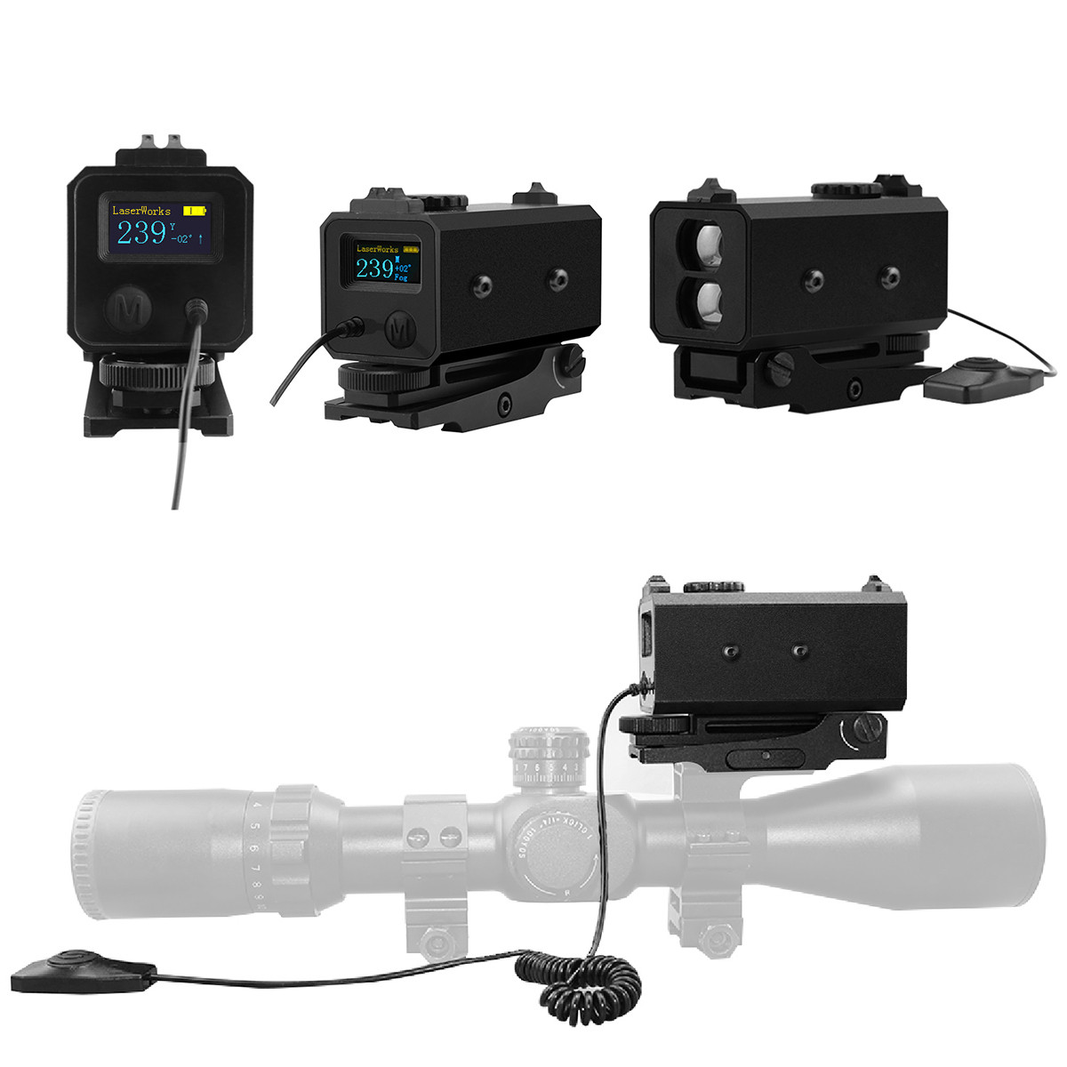Hunting Range Finder Laserworks LE-032 1