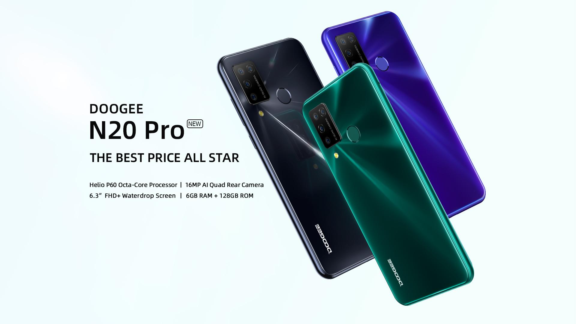 Buy Doogee N20 Pro mobile phone