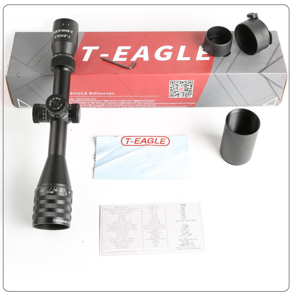 T-Eagle EO 3-9X40 AOEG-KN Riflescope-8