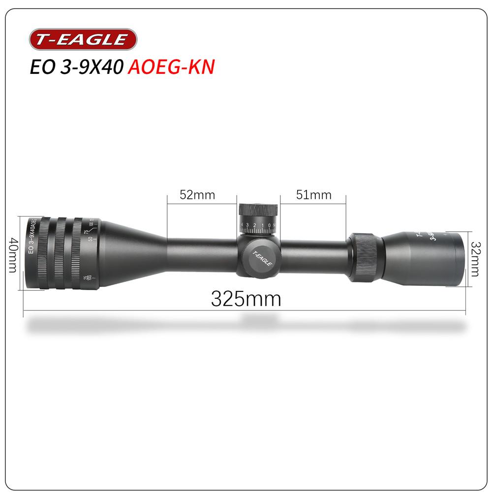 T-Eagle EO 3-9X40 AOEG-KN Riflescope-3