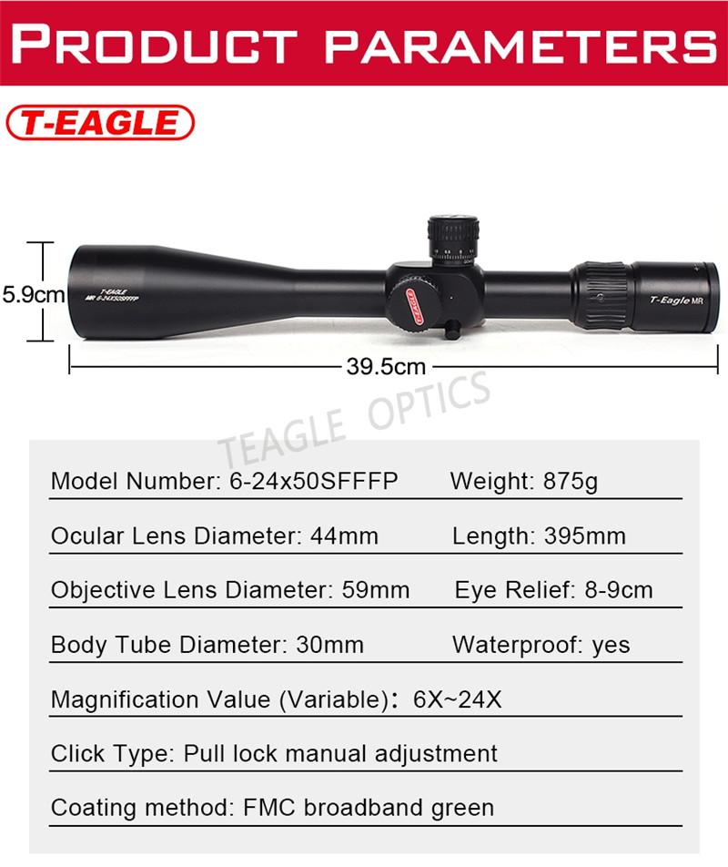 T-Eagle MR 6-24x50SFFFP Riflescope-2