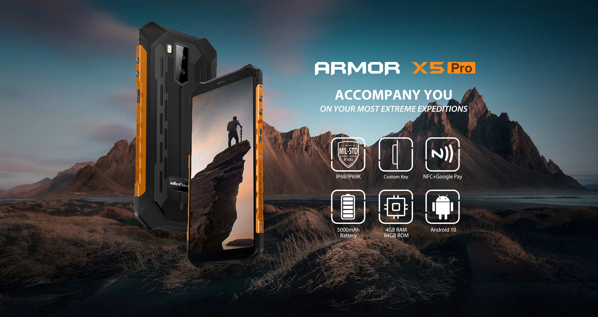 Ulefone armor X5 Pro for sale