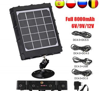 WildGuarder S1 Solar Panel Charger